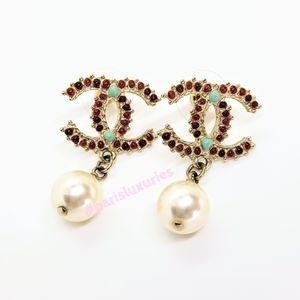 Chanel Paris Dallas Collection Turquoise Garnet …